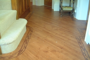 Karndean Flooring and Twist pile Carpet
