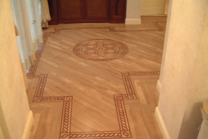 Karndean Flooring fitted with border