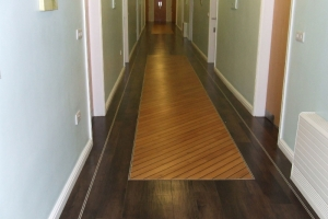 Hallway in LVT 