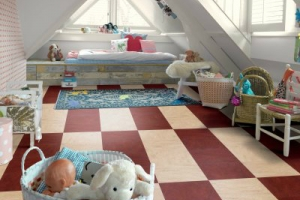 Tile Effect Vinyl Flooring 1