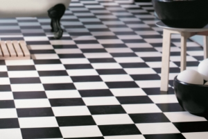 Tile effect Vinyl Flooring 2
